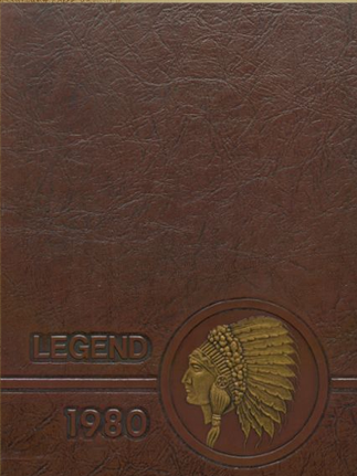 Kickapoo High School Yearbook Cover 1980