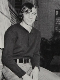 joe montana junior vice president yearbook photo