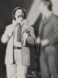 nathan lane theatre candid yearbook photo