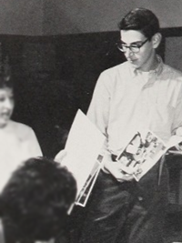 Harold Ramis - 1962 yearbook staff candid