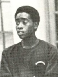 Don Cheadle 1982 Angelaires yearbook candid