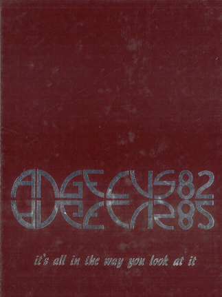 East High School (Denver, CO) 1982 yearbook cover