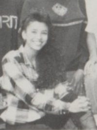 Eva Longoria 1992 junior council yearbook portrait