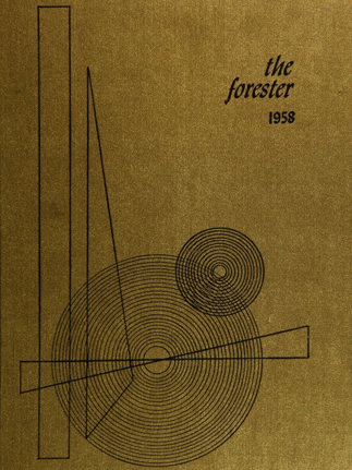 Forest Hills High School (Forest Hills, NY) 1958 yearbook cover