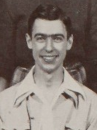 Fred Rogers 1946 French Club yearbook photo - cropped