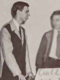 Fred Rogers 1946 Quill and Scroll yearbook photo - cropped