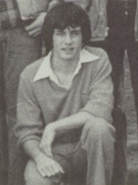 Jeff Probst 1978 golf team yearbook photo (cropped)