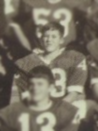 Pete Carroll 1966 freshman football team photo (cropped)