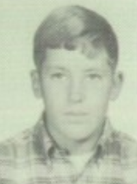 Pete Carroll 1966 freshman yearbook portrait