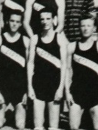 Alice Cooper 1964 sophomore track team photo