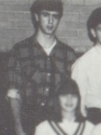 Andy Kaufman 1966 junior class photo (cropped)