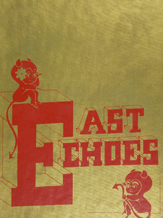 East High School (Green Bay, WI) 1971 yearbook cover (Classmates.com)