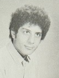 Tony Shalhoub 1971 junior yearbook portrait (Classmates.com)